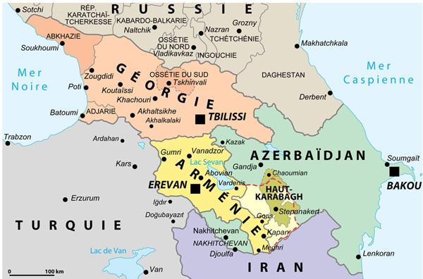 Armenia Artsakh Haut-karabakh à Arménie 4 Différentes Couvertures Drapeau Costume Flore Stamps